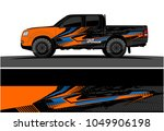 truck  car and vehicle racing... | Shutterstock .eps vector #1049906198