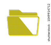 folder sign illustration.... | Shutterstock .eps vector #1049914712