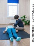 woman practicing special... | Shutterstock . vector #1049921732