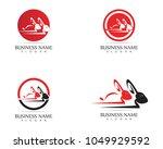 rabbit logo template vector...