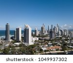 aerial view of modern city... | Shutterstock . vector #1049937302