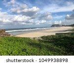 beautiful clouds over beaches... | Shutterstock . vector #1049938898