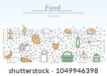food advertising vector...