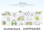 farm advertising vector...