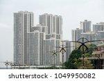 modern residential high rise...   Shutterstock . vector #1049950082