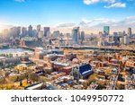 The Skyline Of Boston In...