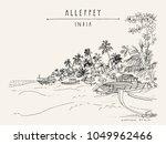 alleppey beach  alappuzha ...   Shutterstock .eps vector #1049962466