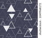 geometric vector pattern ... | Shutterstock .eps vector #1049968172