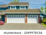 garage  garage doors and...   Shutterstock . vector #1049978156