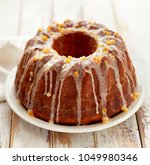 easter yeast cake on a white... | Shutterstock . vector #1049980346