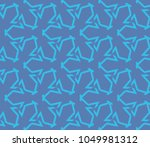 simple modern seamless... | Shutterstock .eps vector #1049981312