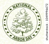 national tree planting day.... | Shutterstock .eps vector #1049996672