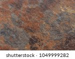 old distressed brown terracotta ... | Shutterstock . vector #1049999282