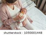 Home Portrait Of A Newborn Baby ...