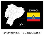 map and national flag of... | Shutterstock .eps vector #1050003356
