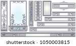 vector template for... | Shutterstock .eps vector #1050003815