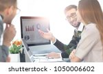 business team discussing... | Shutterstock . vector #1050006602