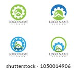 building home nature service... | Shutterstock .eps vector #1050014906