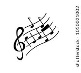 music note sign | Shutterstock .eps vector #1050021002