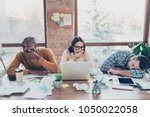 partners colleagues start up... | Shutterstock . vector #1050022058