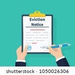 businessman write legal... | Shutterstock .eps vector #1050026306