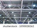 factory metal ceiling   Shutterstock . vector #1050028262