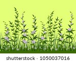 seamless horizontal background  ...   Shutterstock . vector #1050037016