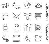 flat vector icon set  ... | Shutterstock .eps vector #1050057056