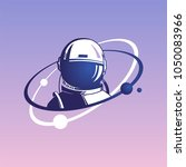 astronaut.  the first cosmonaut.... | Shutterstock .eps vector #1050083966