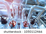 equipment  cables and piping as ... | Shutterstock . vector #1050112466
