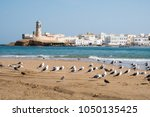 view of al ayjah town from the... | Shutterstock . vector #1050135425