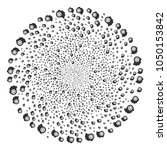 intellect gear twirl spheric... | Shutterstock .eps vector #1050153842