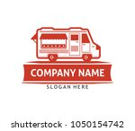 food truck cafe bistro eatery... | Shutterstock .eps vector #1050154742