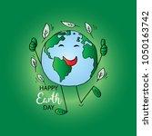 earth day poster   Shutterstock .eps vector #1050163742