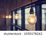 beautiful retro luxury light...   Shutterstock . vector #1050178262