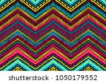 abstract ikat and boho style... | Shutterstock .eps vector #1050179552