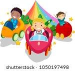 illustration of stickman kids...   Shutterstock .eps vector #1050197498