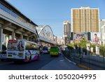 mar 9 2018 rush hour at...   Shutterstock . vector #1050204995