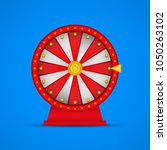 roulette  wheel of fortune icon.... | Shutterstock .eps vector #1050263102