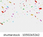 colorful celebration background ... | Shutterstock .eps vector #1050265262