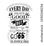typography poster with hand... | Shutterstock .eps vector #1050268256