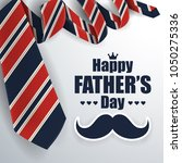 father's day greeting card...   Shutterstock .eps vector #1050275336