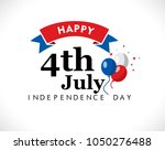 fourth of july  united stated... | Shutterstock .eps vector #1050276488