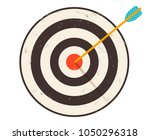 vintage vector icon of targets. ... | Shutterstock .eps vector #1050296318