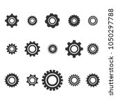 gear icon. vector illustration | Shutterstock .eps vector #1050297788