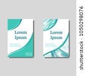 minimal vector covers set.... | Shutterstock .eps vector #1050298076
