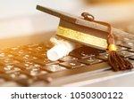 e learning online graduate... | Shutterstock . vector #1050300122