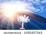 flag of state of south carolina ... | Shutterstock . vector #1050307565