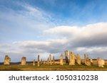 callanish stone circle on the... | Shutterstock . vector #1050310238