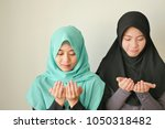 Happy peaceful muslim women...